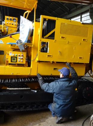 特殊建設機械整備・改造・設計製作